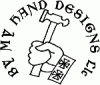 By My Hand Designs hammer in hand logo